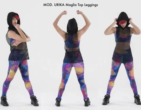 SHOW-DANCE-2017-URIKA-Maglia-Top-Leggings
